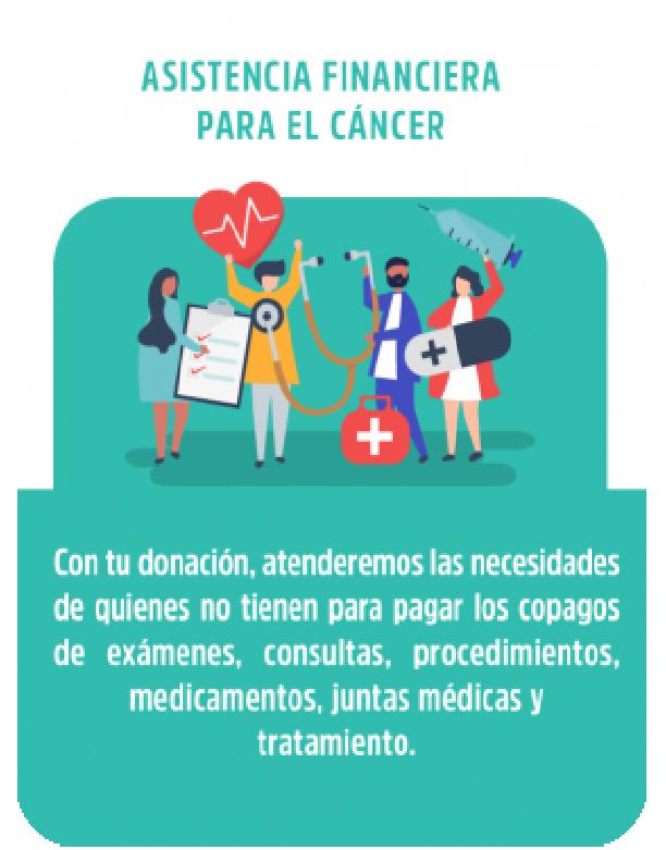 Asistencia financiera para el cancer